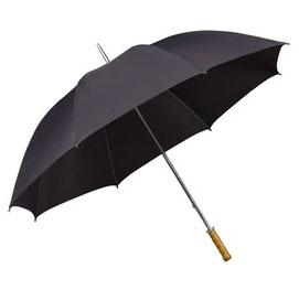 Charcoal budget golf umbrella