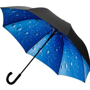 Black Double Canopy Umbrella