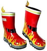 Fireman Wellington Boots