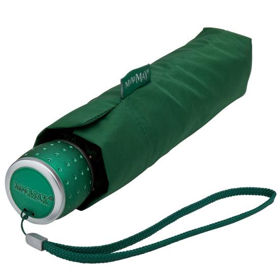 Green Manual Opening Compact Umbrella