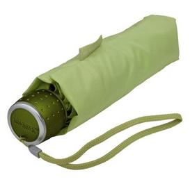 Lime Green Manual Compact Umbrella