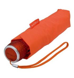 Orange Manual Compact Umbrella