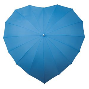 Sky Blue heart umbrella