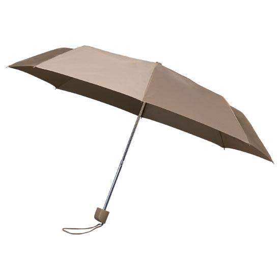 Beige Telescopic Umbrella