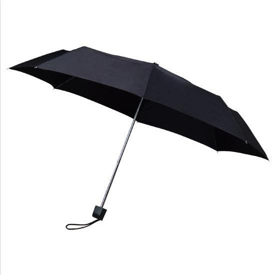 Black Telescopic Umbrella