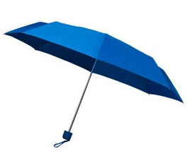 Blue Telescopic Umbrella
