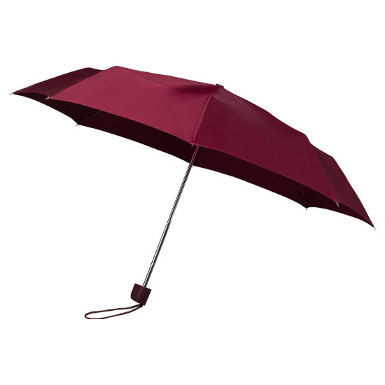 Maroon Telescopic Umbrella