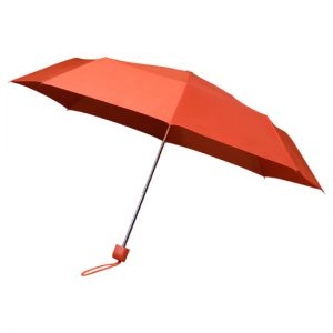 Orange Telescopic Umbrella