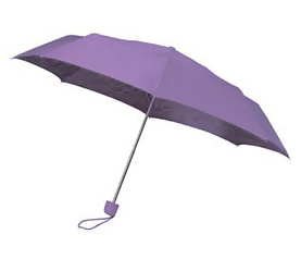 Purple Telescopic Umbrella