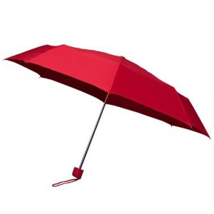 Red Telescopic Umbrella