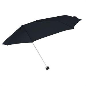 Black windproof compact umbrella