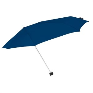Dark Blue Windproof Compact Umbrella