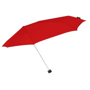 Red Windproof Compact Umbrella
