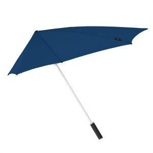 Dark Blue Windproof Umbrella