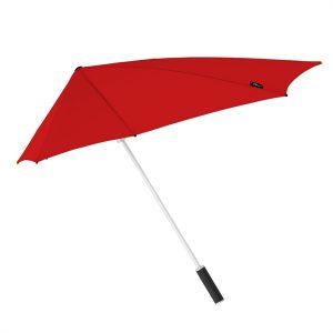 Red Windproof Umbrella