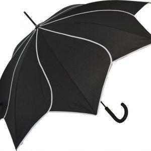 Black Petal Umbrella