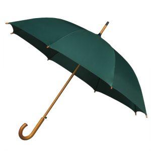 Green Wood Stick Umbrella