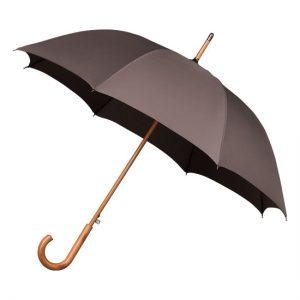 Grey Wood Stick Umbrella