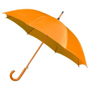 mustard wood stick umbrella