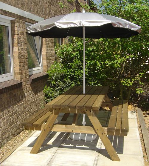 Garden UV Parasol