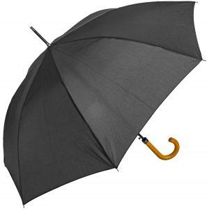 Black city walking umbrella