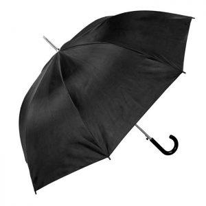 unisex black walking umbrella