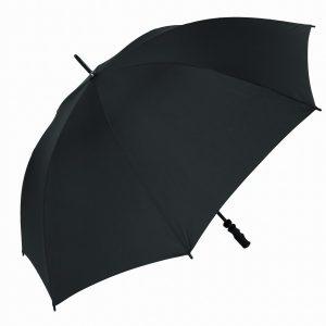 black wind resistant golf umbrella