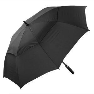 Black Windproof Golf Umbrella