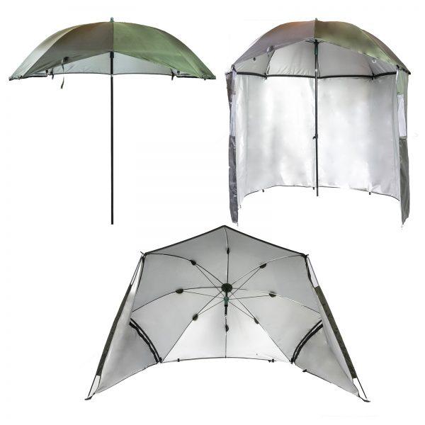 3-in-1 UV Shelter Bivvy Umbrella